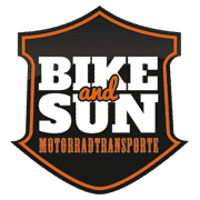 Motorradtransporte Bike and Sun Logo