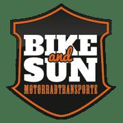 Motorradtransporte Bike and Sun Logo